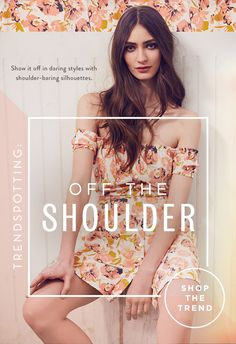 Free People: Bold Shoulder Boho | Milled