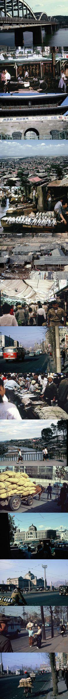 1966년 서울의 모습 Seoul in 1966