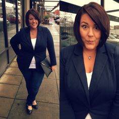 Life & Style of Jessica Kane { a body acceptance and plus size fashion blog }: Work Baby