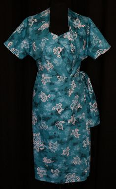 1950s vintage inspired bombshell Hawaiian sarong by OuterLimitz, £115.00