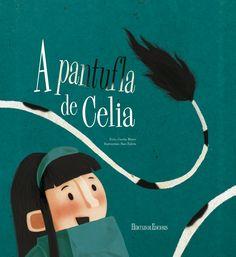 Infantil. De 6 a 8 anos. No andel dunha tenda vive unha pantufla con forma de vaca. Un día entra Celia e se namora das súas manchas negras e brancas pero... Conseguirá Celia a súa pantufla vacúa?
