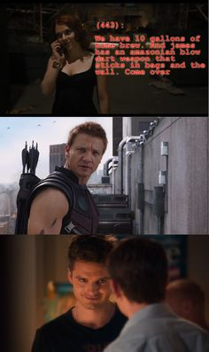 Texts From the Avengers | OH MY GOD THEY LET BUCKY BRING HIS WEAPONS.