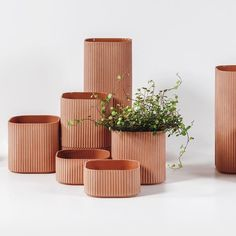 The pots were created in partnership with Kilo Design for COBE's solo exhibition, Our Urban Living Room, at the Danish Architecture Centre. #productdesign #architecture #design #interior #interiors #interiordesign #archidaily #interiorarchitecture #meubles #designfurniture #chair #furniture #furnituredesign #contemporary #contemporarydesign #konektmag