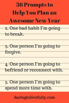 The holiday season is here, which means the New Year is just around the corner. Use these New Year prompts to plan your year.