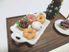 미니어쳐 도너츠(도넛) 만들기/ how to make miniature doughnuts / ミニチュア ドーナツ - YouTube