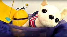 Dessin animé avec jouets. Kevin et Chichi: VOYAGE ROMANTIQUE. Vidéo pour...