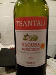 Naousa Imiglykos 2012  DO Vino de Grecia (Naousa, Macedonia) Bodegas Tsantali 11.5º