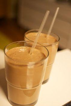 nutritarian recipe box: Cocoa Banana Almond Smoothie