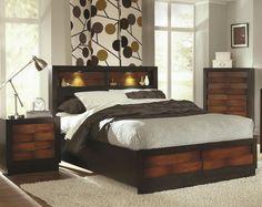 Solid wood bedroom creative ideas