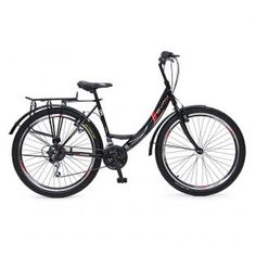 "Мони Трейд - Велосипед със скорости 26"" City"