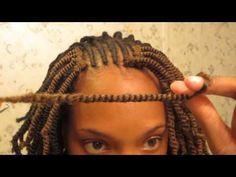 ▶ Crochet Twists | Nubian Twists Tutorial - YouTube