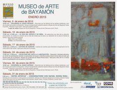 PUERTO RICO ART NEWS: Calendario de Actividades y Eventos del  Museo de ...