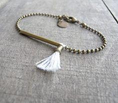 Bracelet Nomade blanc