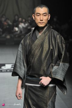 140319-7465 - Autumn/Winter 2014 Collection of Japanese fashion brand JOTARO SAITO on March 19, 2014, in Tokyo.