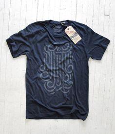 756194093803ec Little Mountain Print Shoppe — The Great Bearded Gentleman    Navy Fashion  Graphic