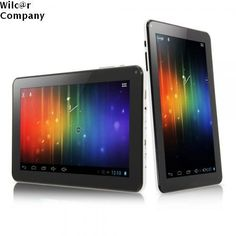 """9"""" Tablet X15 Dual Core 8GB Android 4.2 PC HDMI Camera Black White WiFi Google  #Capacitive"""