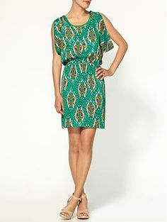 Collective Concepts Ikat Print Dress   Piperlime