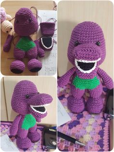 Another barney. Mini version this time.