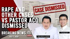 Davao City Prosecutor's Office Dismisses Rape and Other Charges vs Pastor Quiboloy Kingdom Of Heaven, Forced Labor, Free Education, Son Of God, News Channels, Revolutionaries, Apollo, Trauma, Pastor