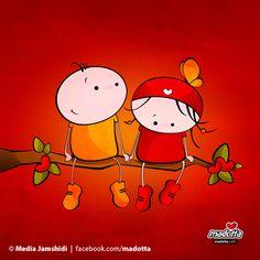 Madotta cartoon illustration