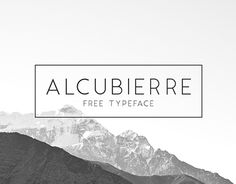 Alcubierre is a geometric sans serif typeface stepping in the foot prints my original font Ikaros. Using the advantages to make a clean minimal font, it works for a variety of uses. Alcubierre is available for free for commercial and personal use.