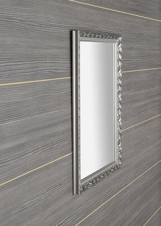 MELISSA zrcadlo v dřevěném rámu 570x770mm, stříbrná : SAPHO E-shop Girls Bedroom, Challenge, Mood, Mirror, Retro, Shopping, Home Decor, Decoration Home, Room Decor