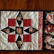 GRANNIES CHOICE mug rug, snack mat - via @Craftsy