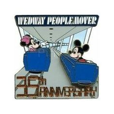 disney people mover collectors pin