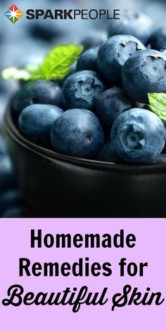 DIY beauty recipes from your very own kitchen: face mask, cleanser, etc. that use 100% all-natural ingredients! | via @SparkPeople #homemade #healthy