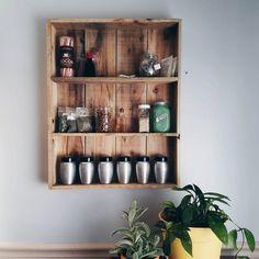 Pallet-Wood-Spice-Rack