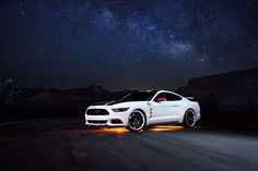Ford engineering and design teams led the development of a one-of-a-kind Apollo Edition 2015 Mustang.  The aviation inspired Mustang will be donated to the Gathering of Eagles Charity Auction to benefit EAA youth education programs.