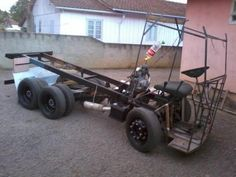 Canadauence TV: Catarinense cria caminhão artesanal Volkswagen, pu...