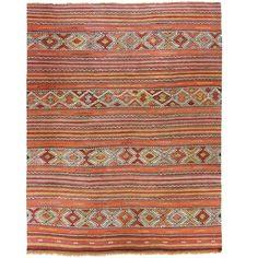 Vintage Turkish Kilim | Cicim via @VandM.com