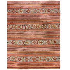 Vintage Turkish Kilim | Cicim via @VandM.com