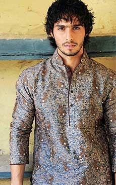F15 Pakistani Indian Men Fine Design Kurta Shalwar
