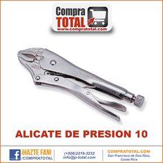 #CompraTotal - #HerramientaManualCostaRica ALICATE DE PRESION 10