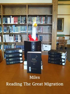 It is time for Miles to hit the books, and it looks like migration is the topic.