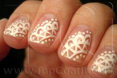 Lace Nail Design