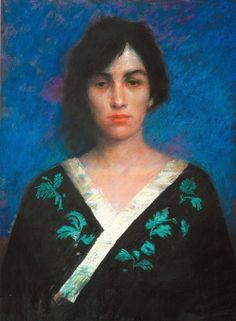 Portraits Collection - The Woman Gallery - Judy Drew Australian Painters, Australian Artists, Pastel Portraits, Pastel Art, Pastel Paintings, Classical Art, Figure Painting, Figurative Art, Japanese Art
