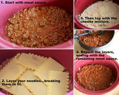 HOW TO: Make Crockpot Lasagna {Perfect for summer!}