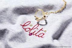 LoquetLondon Heart pendant with charms (ruby, snowflake, diamond cross)