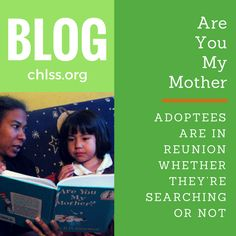 Read our latest blog post about Adoptees!