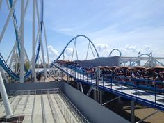 GateKeeper Media Day at Cedar Point. #Sandusky #OH #Attractions #RollerCoaster