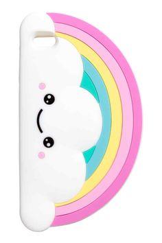 Coque pour iPhone 6/6s - Blanc/arc-en-ciel - FEMME | H&M FR 1