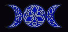 Triple moon...Celtic knot tattoo design love :)