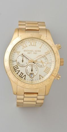 michael kors layton watch - LOVE IT