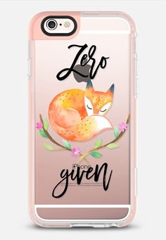 Casetify iPhone 7 Case and Other iPhone Covers - Zero Fox Given - Watercolor Floral iPhone 6s Case by Ruby Ridge Studios | #Casetify