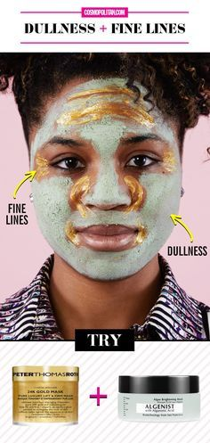 DULLNESS & FINE LINES FACE MASK HOW-TO: Rescue your skin and reduce signs of aging with this mask combo. Use a naturally exfoliating algae mask to target dull skin, and an anti-aging mask to target wrinkles and lines. Find the product information and full instructions here!