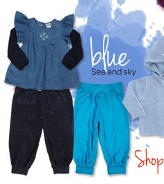 So why is the sky blue?!? style bites by babysgotstyle.com
