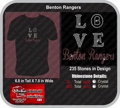 Love Benton  School mock up Glitter and Bling $20 for sizes up to xlarge $22 for sizes 2Xlarge and BIgger